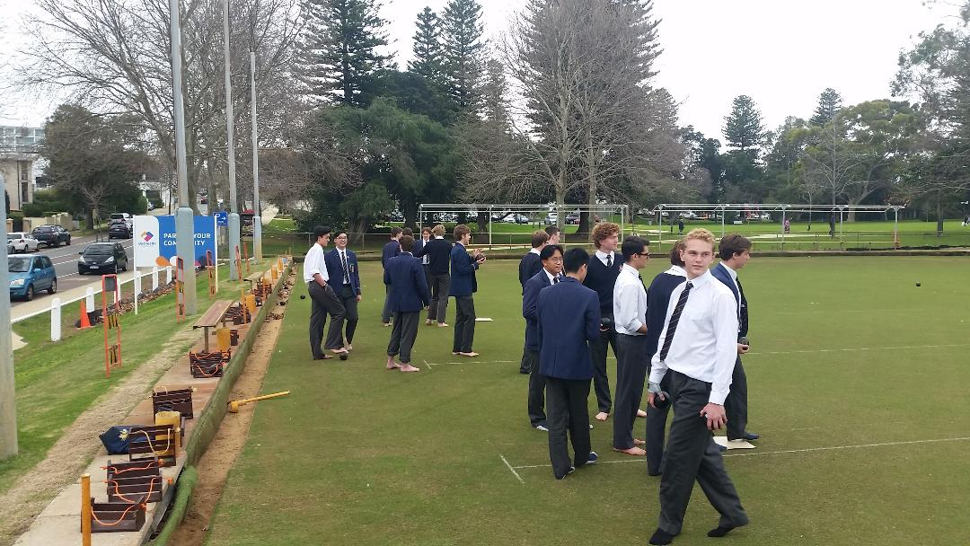 Claremont Bowls Functions Private Boys School